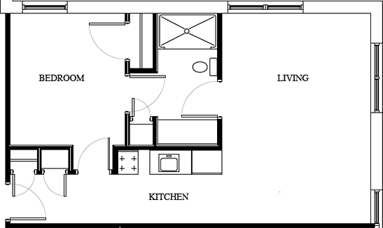 plan-one-bedroom